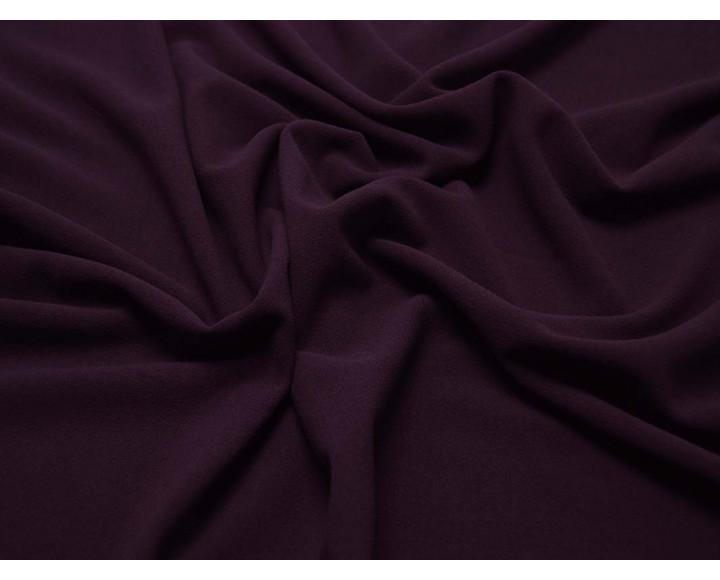 Плательная однотонная Темно-фиолетовая 00013