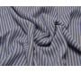 Трикотаж набивной  Сине-белая полоска 00006