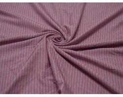 Трикотаж набивной  Розовая Полоска 00105