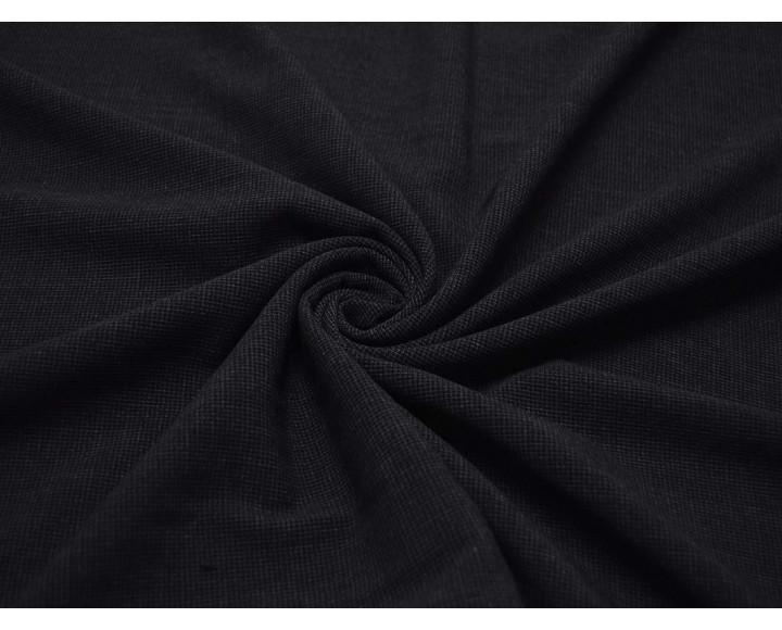 Костюмная  Черная С Белыми вкраплениями 00060