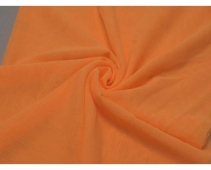 Сетка Стрейч оранжевая 00131