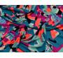Бифлекс бирюзово-голубой с геометрическим принтом 00020