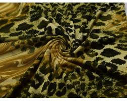 Трикотаж леопард 00142