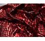 Трикотаж диско черный с красным 0115