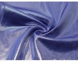 Трикотаж диско синий с серебром 00039