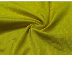 Трикотаж диско желтый с золотистым 0073