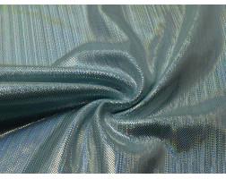 Голограмма диско голубой с серебром 0072