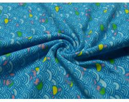 Бифлекс набивной голубые кружки 00004