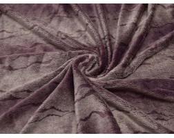 Мех Вельбоа темно-розовый N5