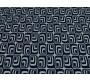 Трикотаж набивной белый с синим рисунком 00029