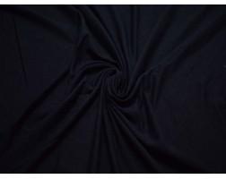 Трикотаж однотонный темно-синий вискозный 00032