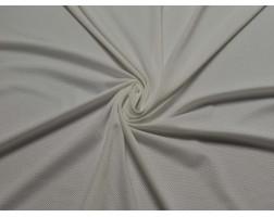 Трикотаж сетка однотонный белый 00038