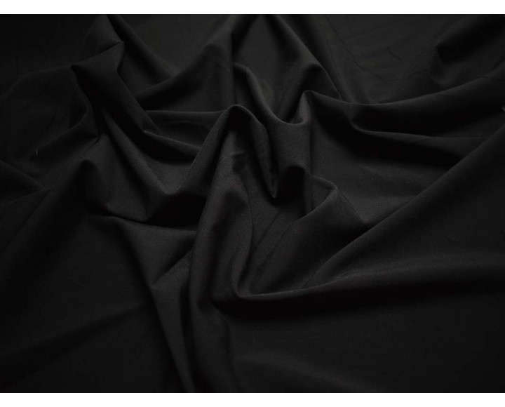 Плательная черная с эластаном 00063
