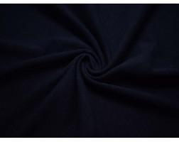 Трикотаж однотонный темно-синий 00043