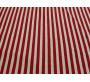 Трикотаж Футер в красно-белую полоску 00009