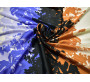 Блузочная набивная цветы 00013
