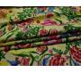 Плательная набивная с цветами 00034