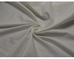 Рубашечная белая полосатая 00027