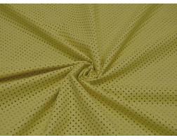 Кожзаменитель Перфорированный желтый 00052