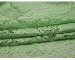 Гипюр стрейч светло-зеленый 00121