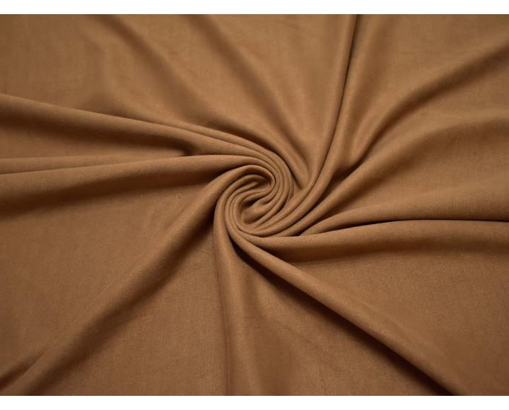 Замша искусственная светло-коричневая  00026