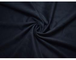 Замша искусственная темно-синяя 00032