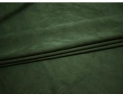 Замша искусственная зеленая 00060