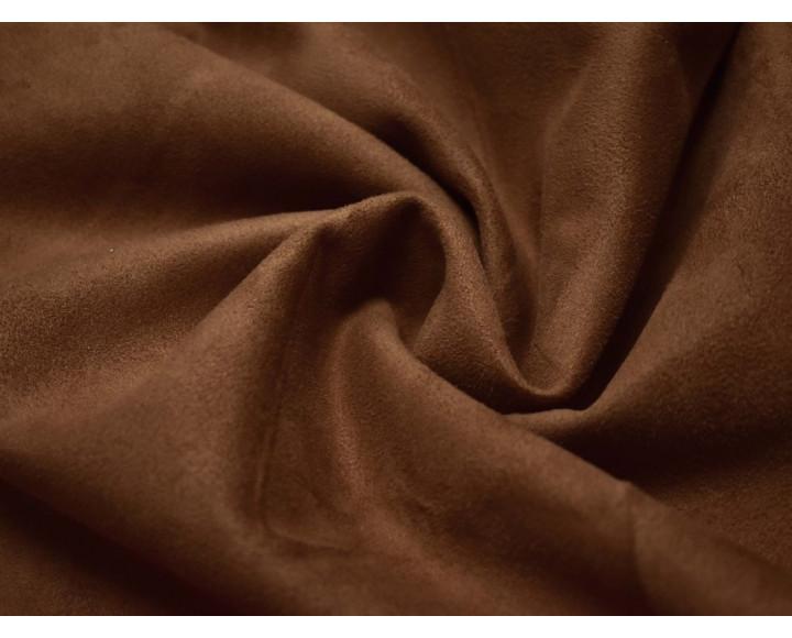 Замша искусственная коричневая 00033