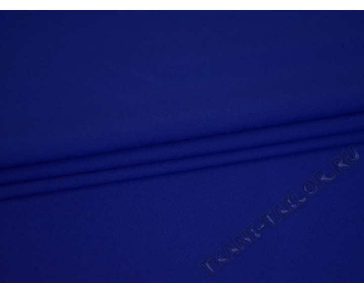 Габардин синий электрик