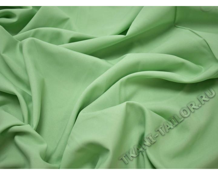 Габардин светло-зеленый