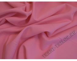 Габардин розовый