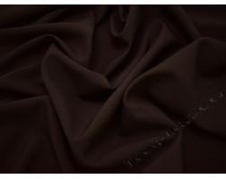 Габардин коричневый темный шоколад
