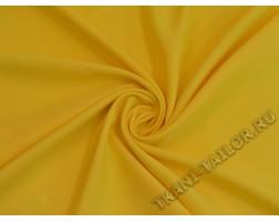 Габардин желтый