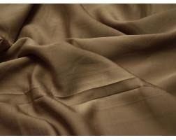 Шелк атлас коричневый