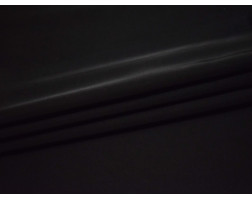 Шелк атлас черный