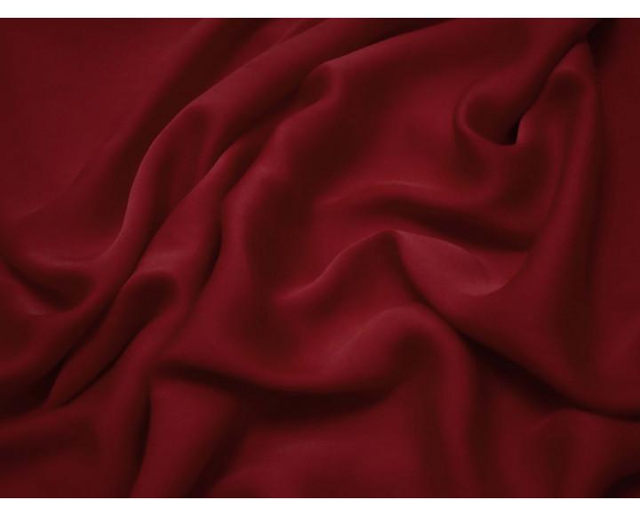 Шелк атлас бордово-красный