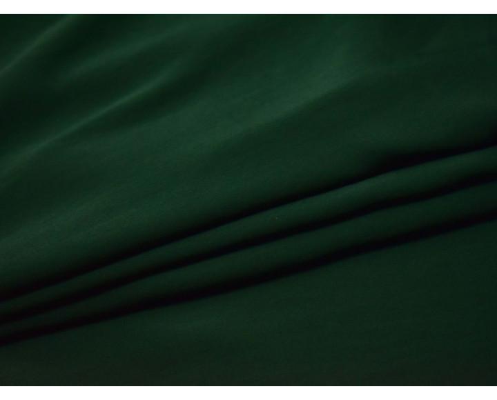 Шелк атлас темно-зеленый