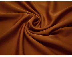 Шелк атлас красно-коричневый