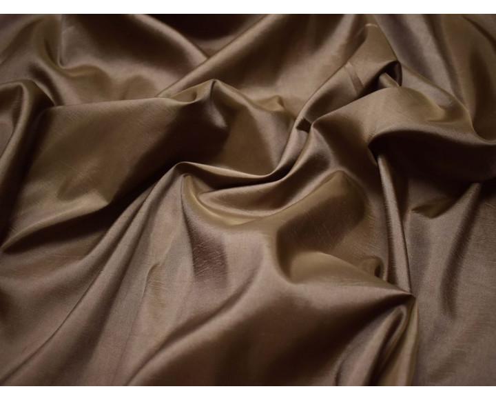 Тафта бежево-коричневая