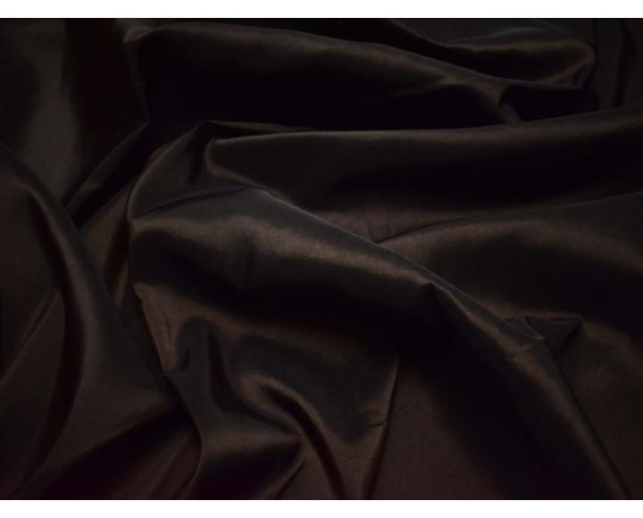 Тафта шоколадно-коричневая