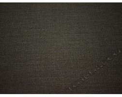 Костюмная шерсть серо-коричневая клетка