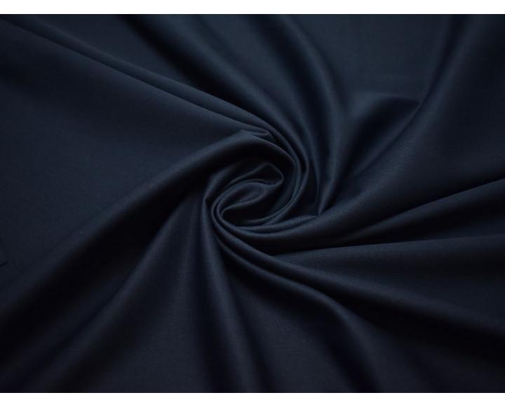 Костюмная ткань сумеречно-синего цвета