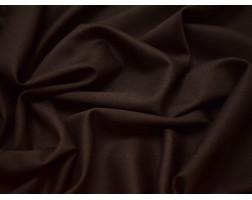 Костюмная шерсть коричневая