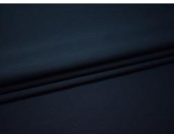Костюмная шерсть синяя