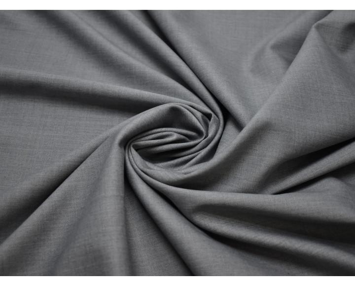 Костюмная шерсть серого цвета