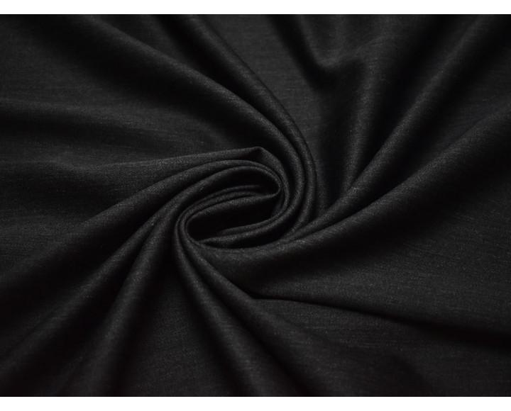 Костюмная шерсть темно-серый
