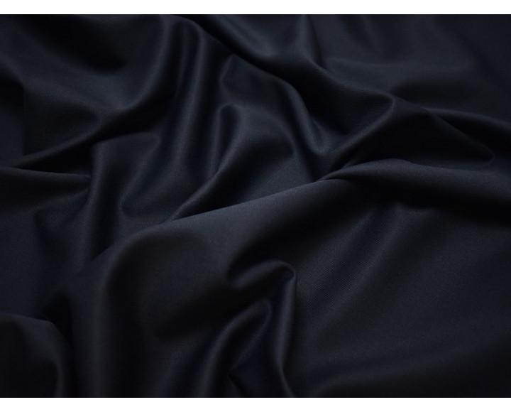 Костюмная шерсть темно-синяя
