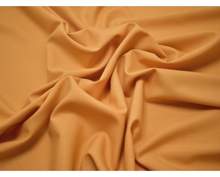 Костюмная шерсть оранжевая