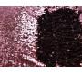 Сетка с пайетками розово-черная
