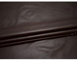 Кожзаменитель темно-коричневый